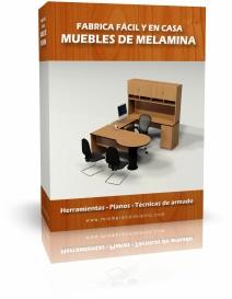 Ebook Como fabricar Muebles de Melamina